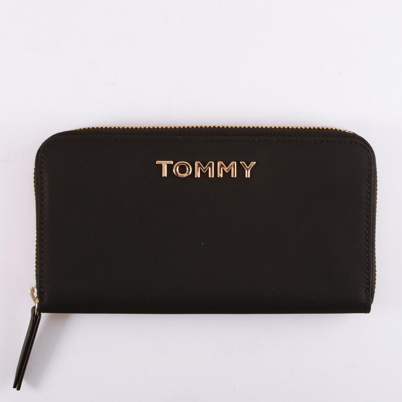 Tommy Jeans Νylon Large Zip Around Wallet Black (9000046791_1469)
