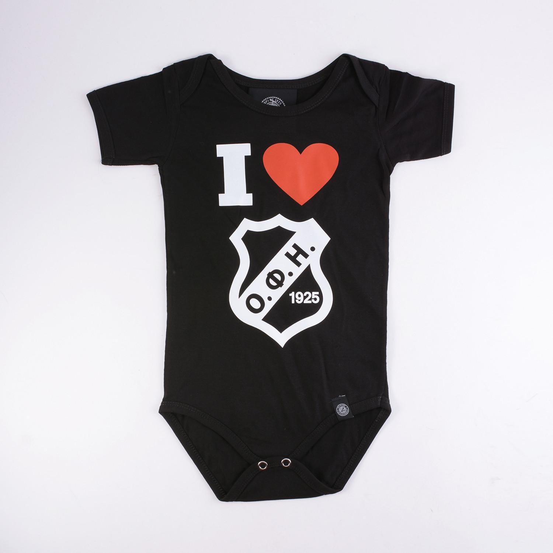 OFI Infants' Bodysuit 'I Love OFI'