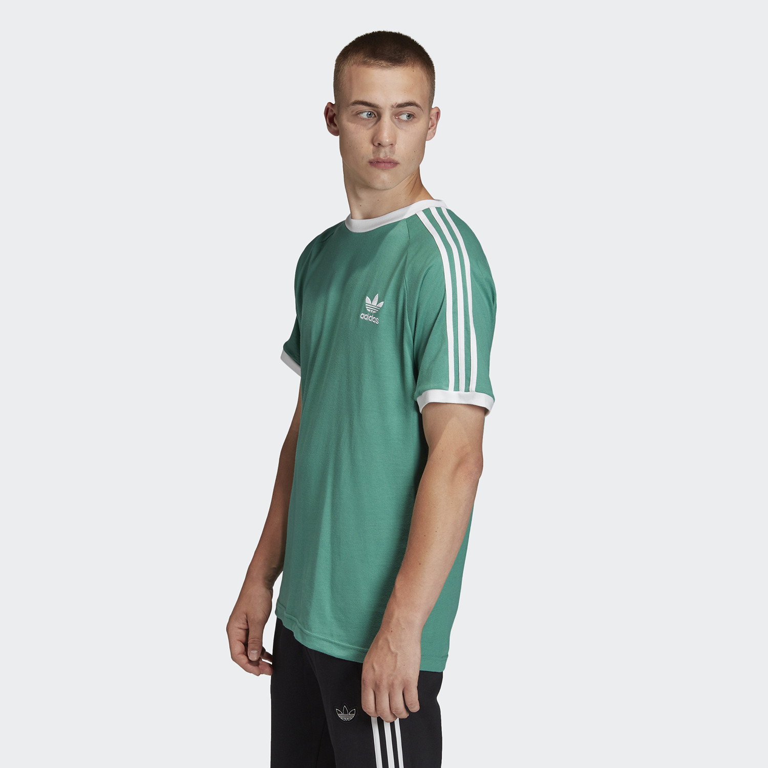 adidas Original 3-Stripes Men's Tee (9000045551_43555)