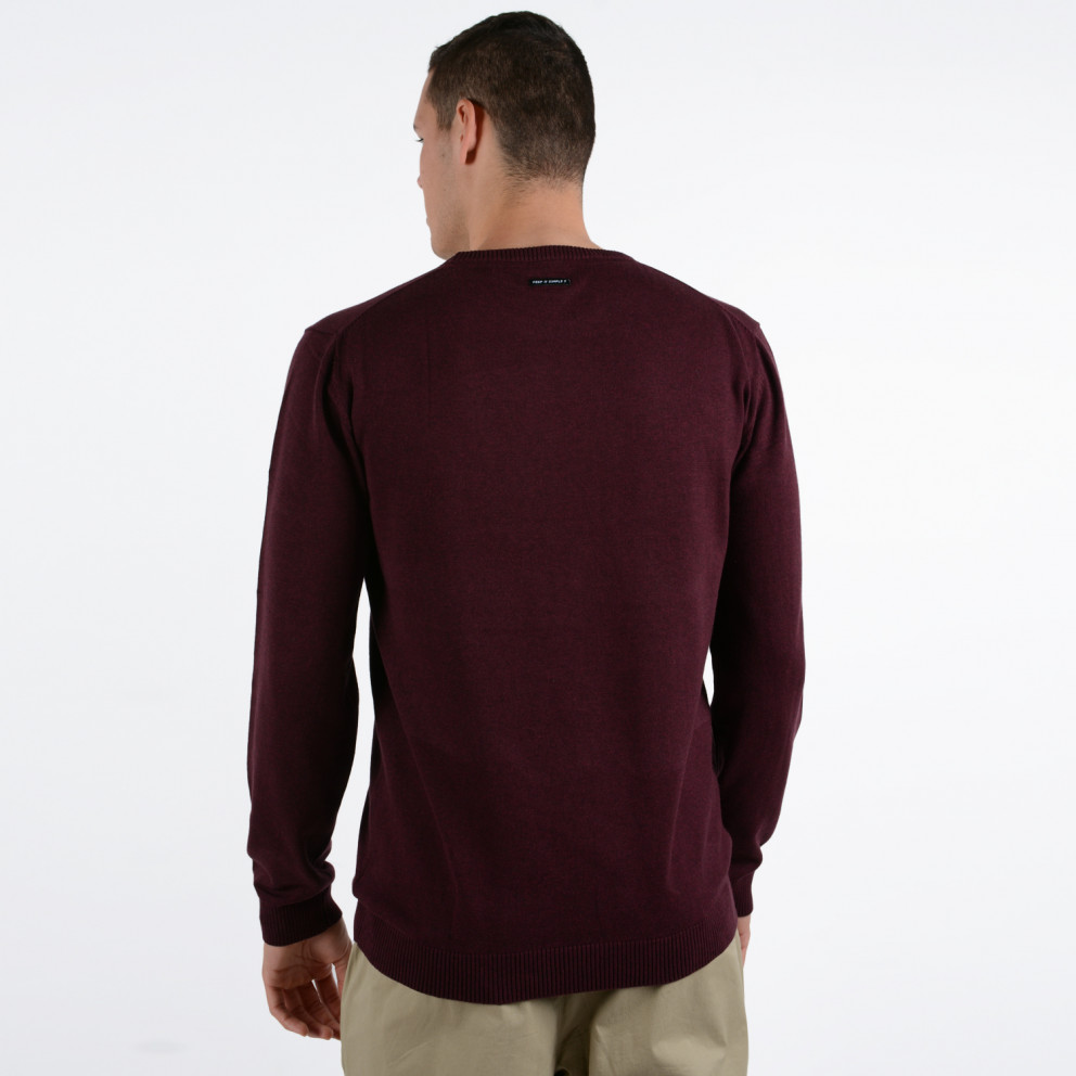 Emerson Men's Cotton Knit with Round Neck