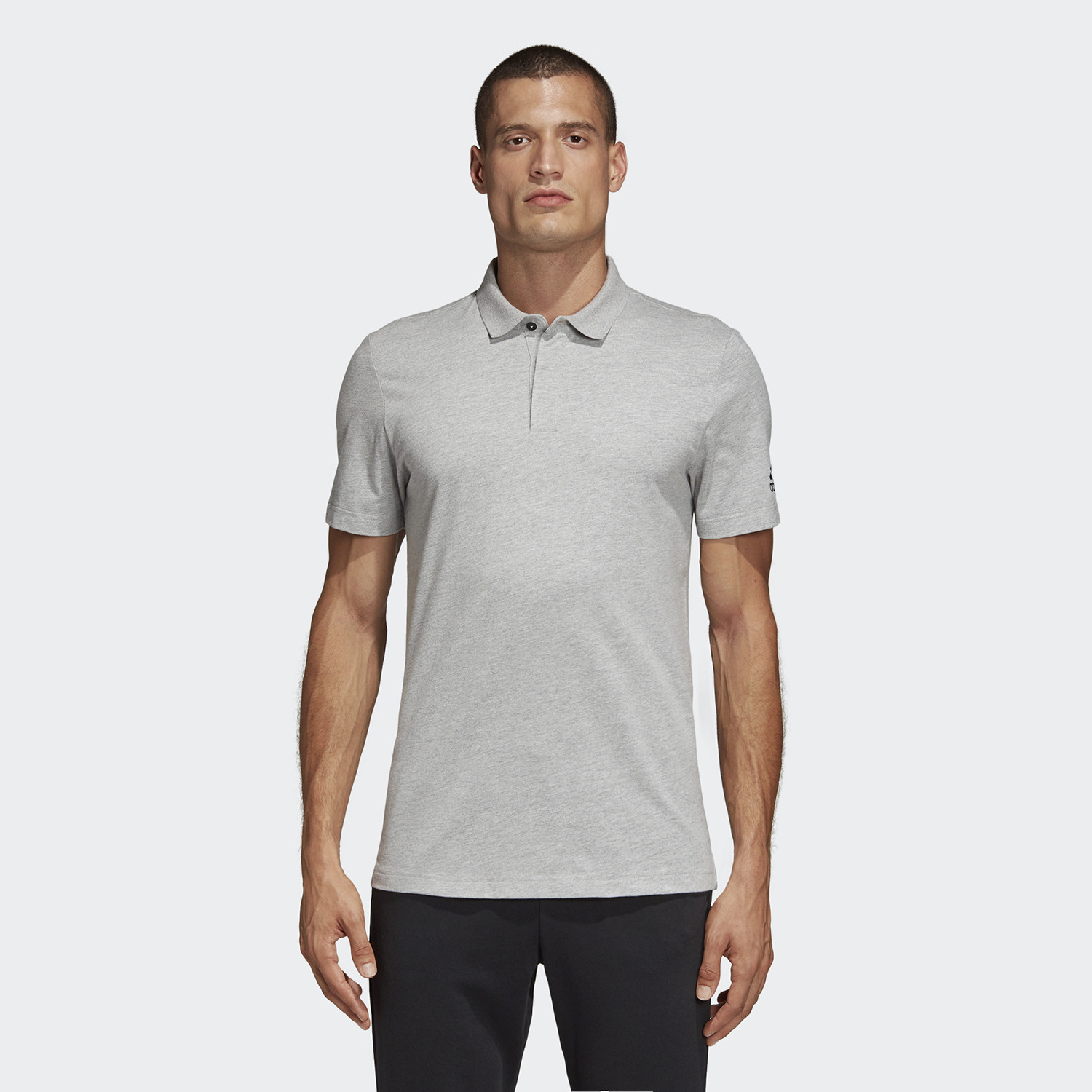 adidas Performance Must Haves Men's Plain Polo Shirt (9000044607_7747)