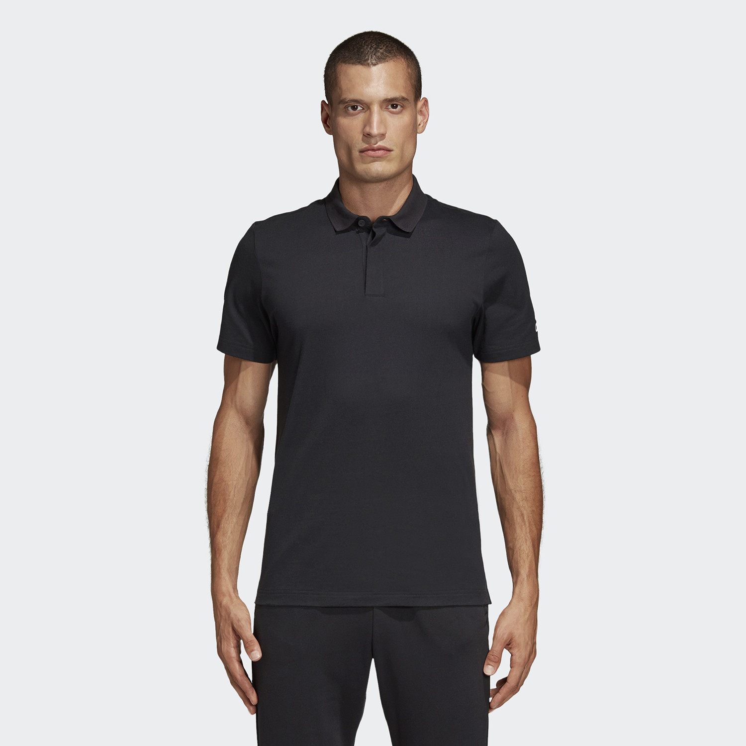 adidas Performance Must Haves Men's Plain Polo Shirt (9000044608_1469)