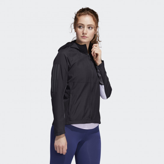 adidas Performance Own The Run Women's Hooded Wind Jacket