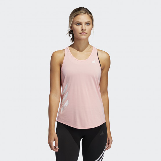 adidas Performance Own The Run 3-Stripes Pb Tank Top