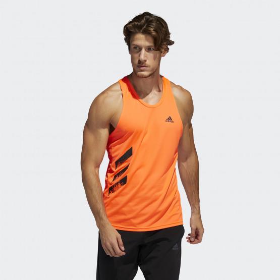 adidas Performance Own The Run 3-Stripes Men's Singlet