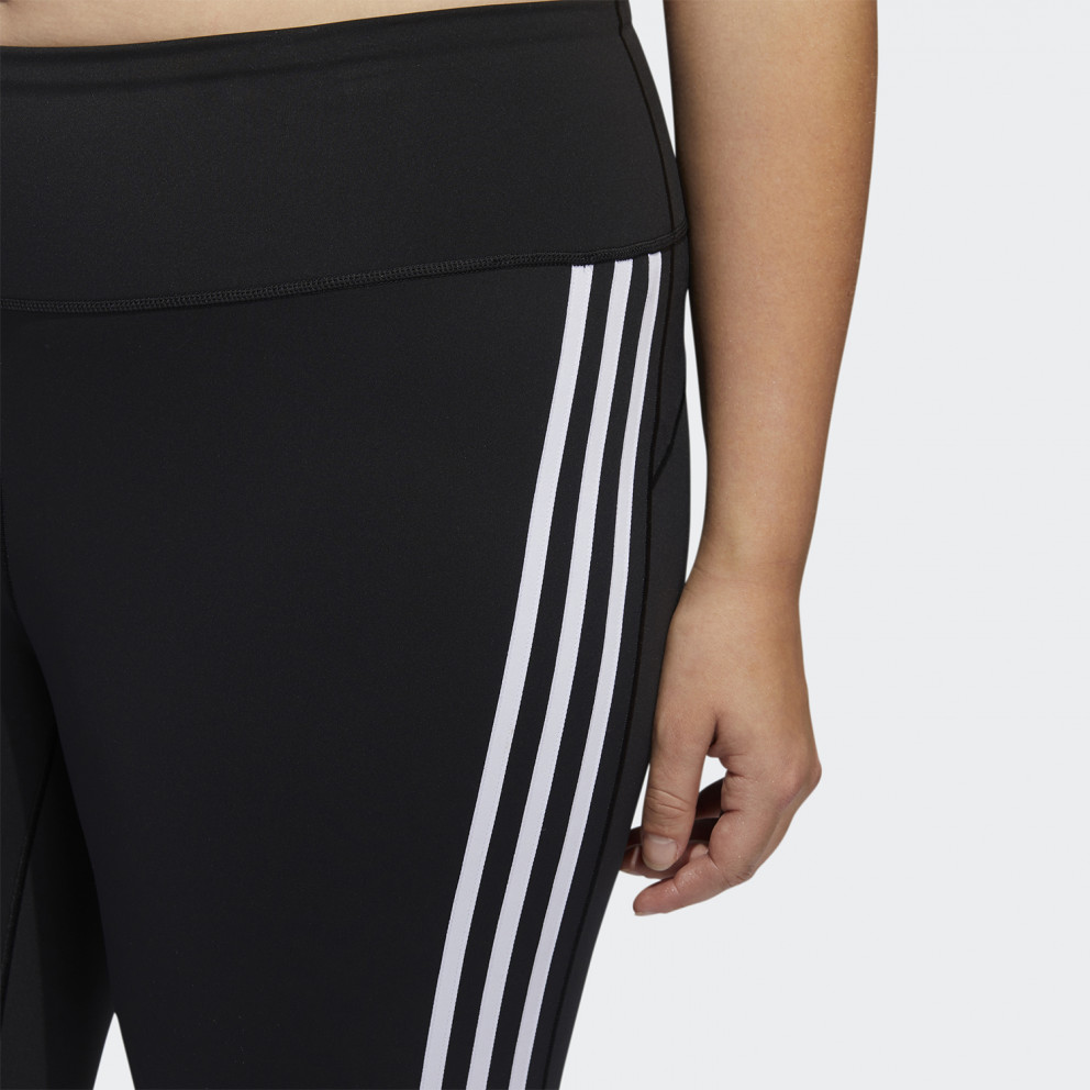 adidas Performance Believe This 3-Stripes 7/8 Plus Size Tights