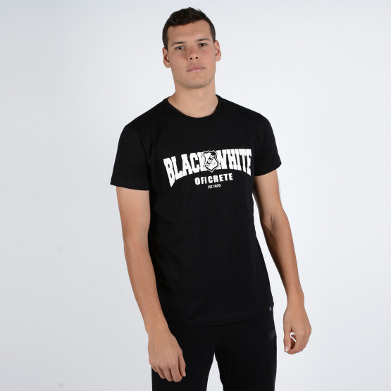 OFI F.C. 'Black&White' Men's T-Shirt