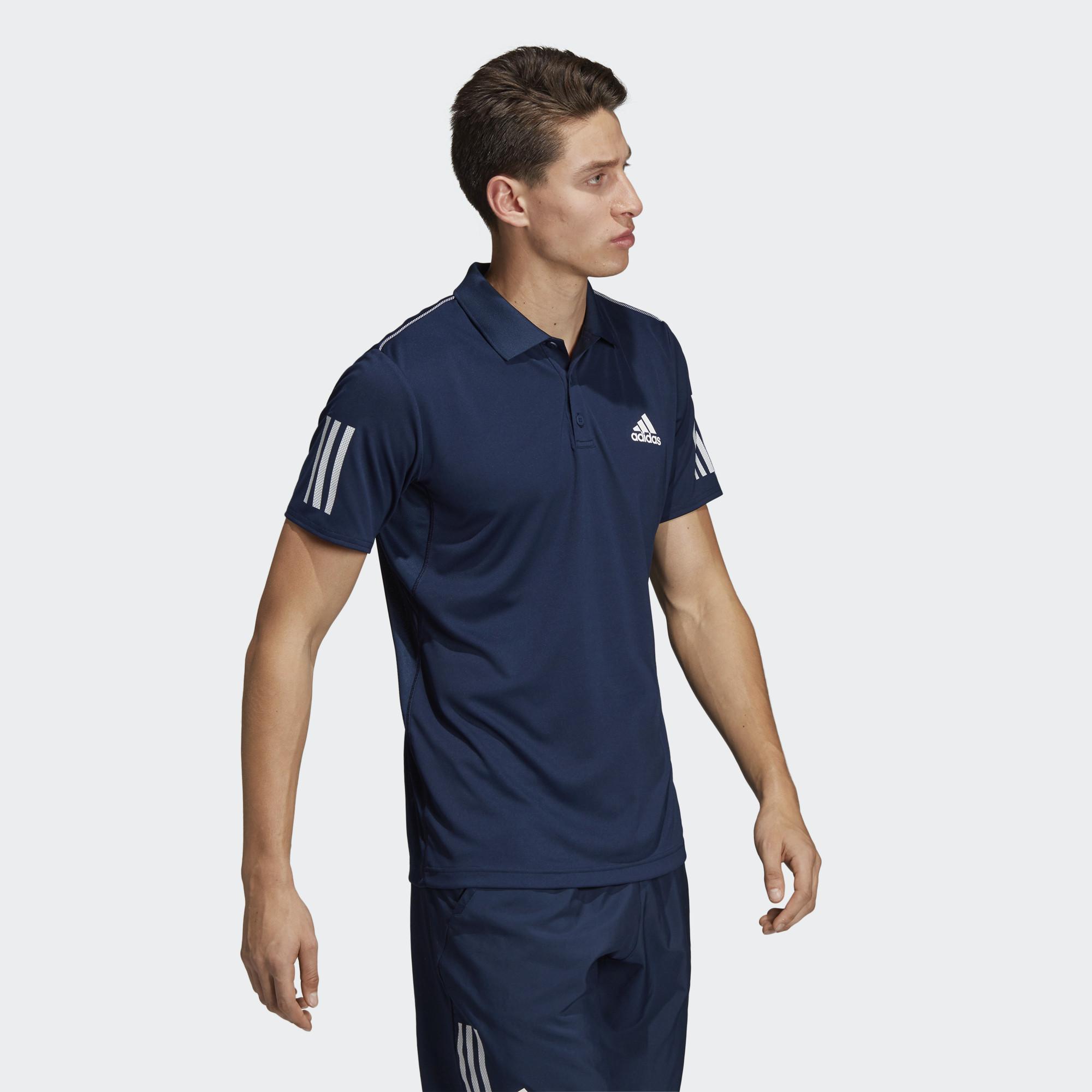 adidas Club 3STR Polo (9000044613_7659)