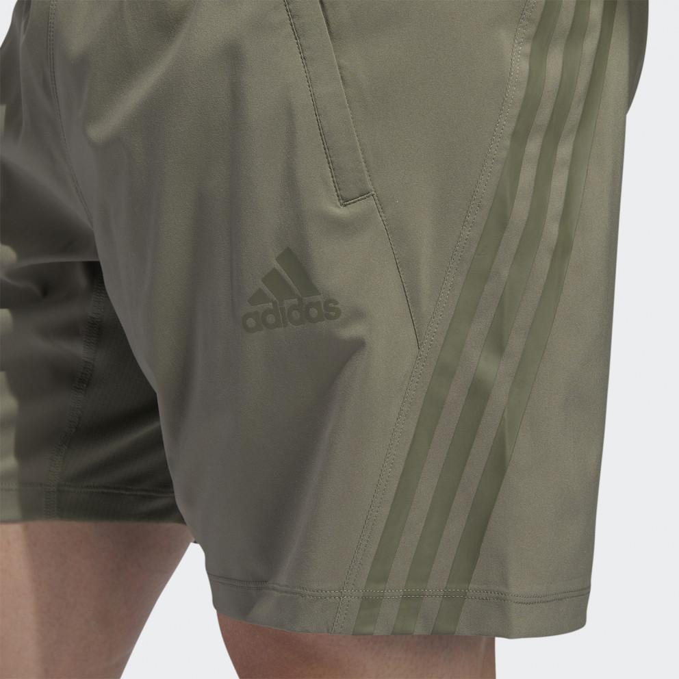 adidas Performance Aeroready 3-Stripes 8-Inch Men's Shorts