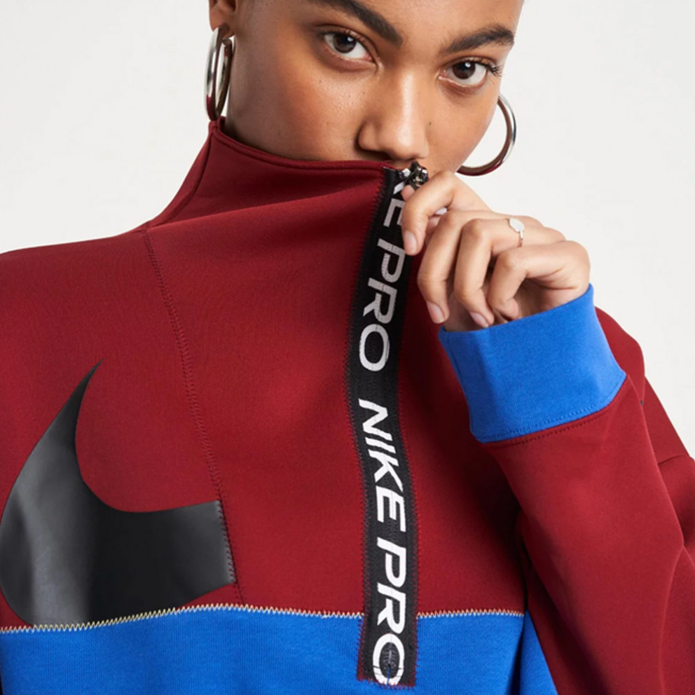 Nike Training Icon Clash Half Zip Women'S FLeece Top