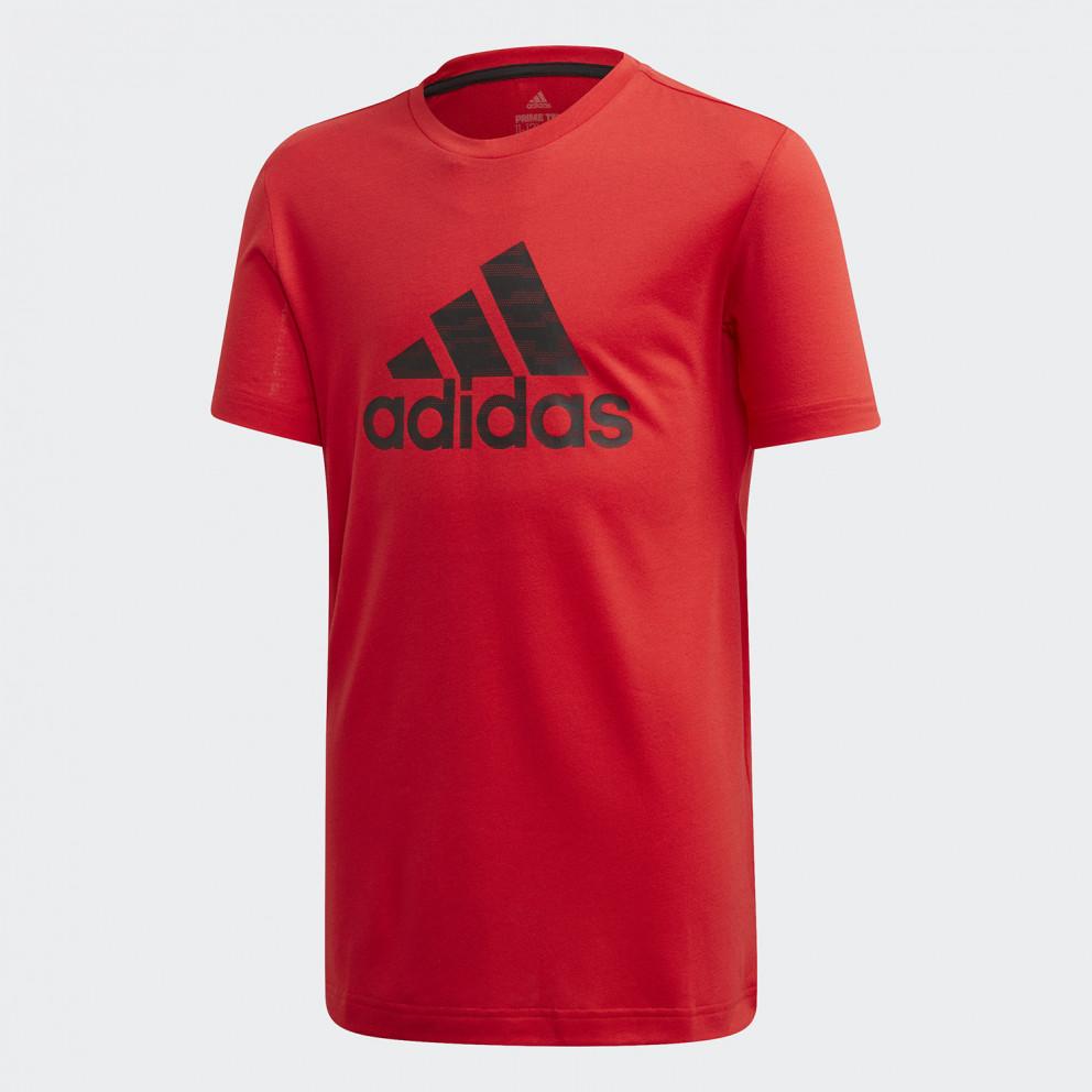 adidas Performance Kids' Prime T-Shirt VIVRED/BLACK FK9500