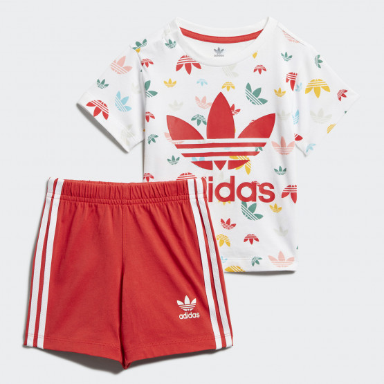 adidas Originals Shorts And Tee Infants' Set