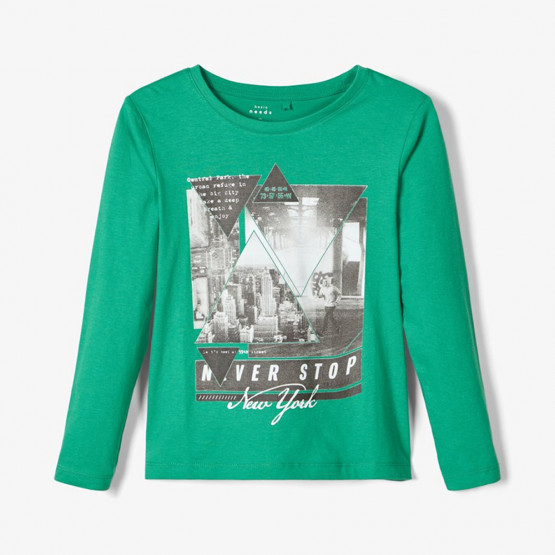 Name it Kids' Loose Fit Long-Sleeved T-shirt