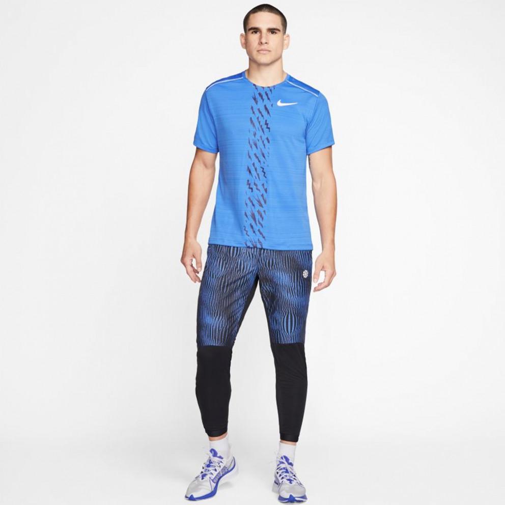Nike Men's  Dri-Fit Miler Edge Graphic T-Shirt