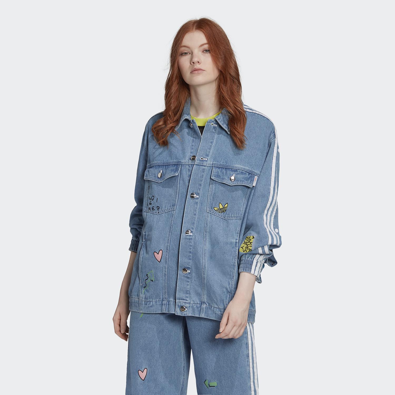 adidas Originals Women's Denim Jacket