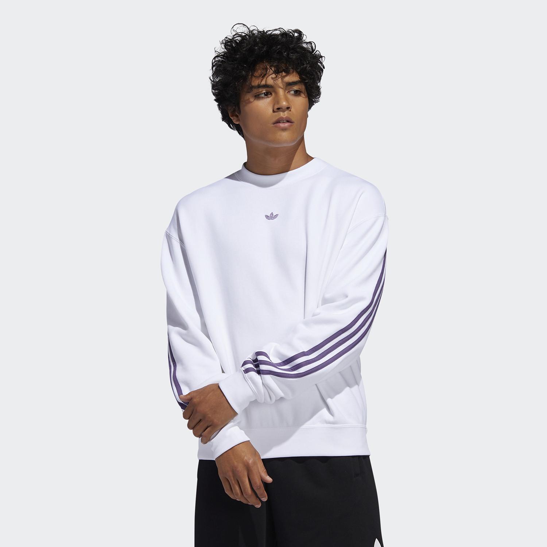 adidas Originals 3-Stripes Wrap Crew Men's Sweatshirt (9000045392_43531)
