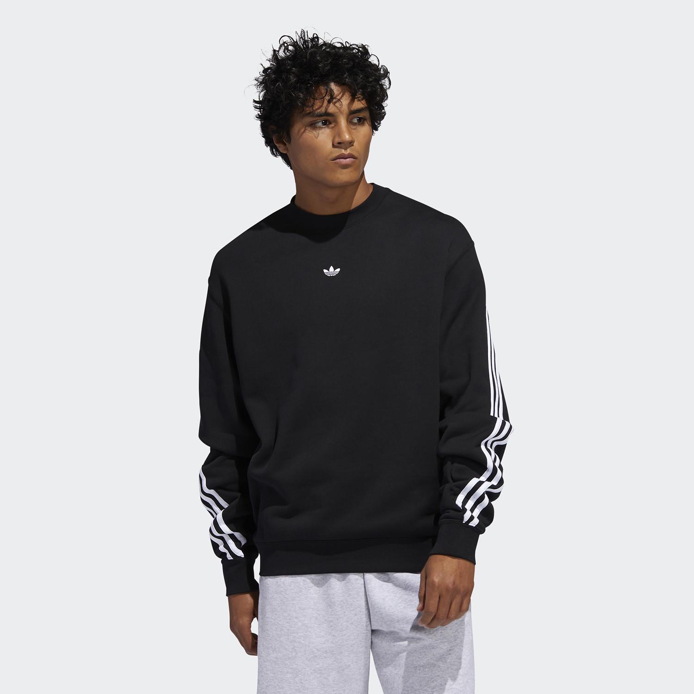 adidas Originals 3-Stripes Wrap Crew Men's Sweatshirt (9000045394_1480)