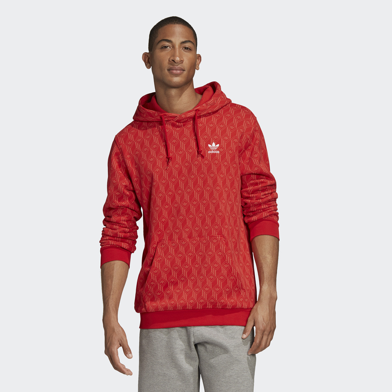 adidas Originals Allover Print Hoodie (9000045530_43551)