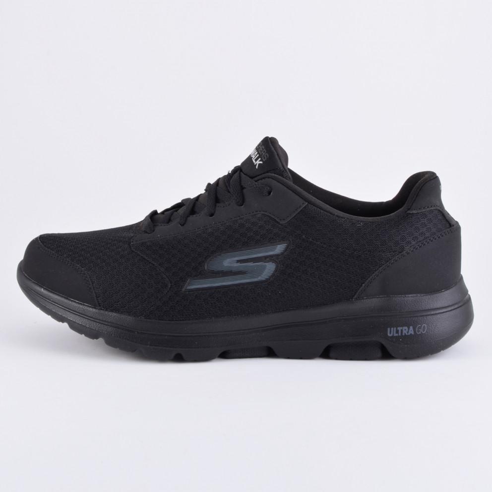Skechers Go Walk 5-Qualify Black Men's Shoes