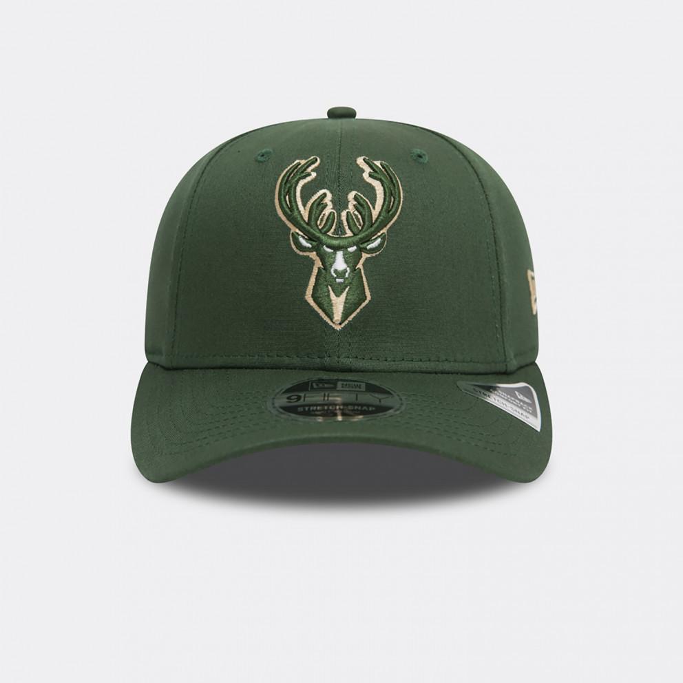 New Era NBA Milwaukee Bucks Snapback Stretch 950 Καπέλο