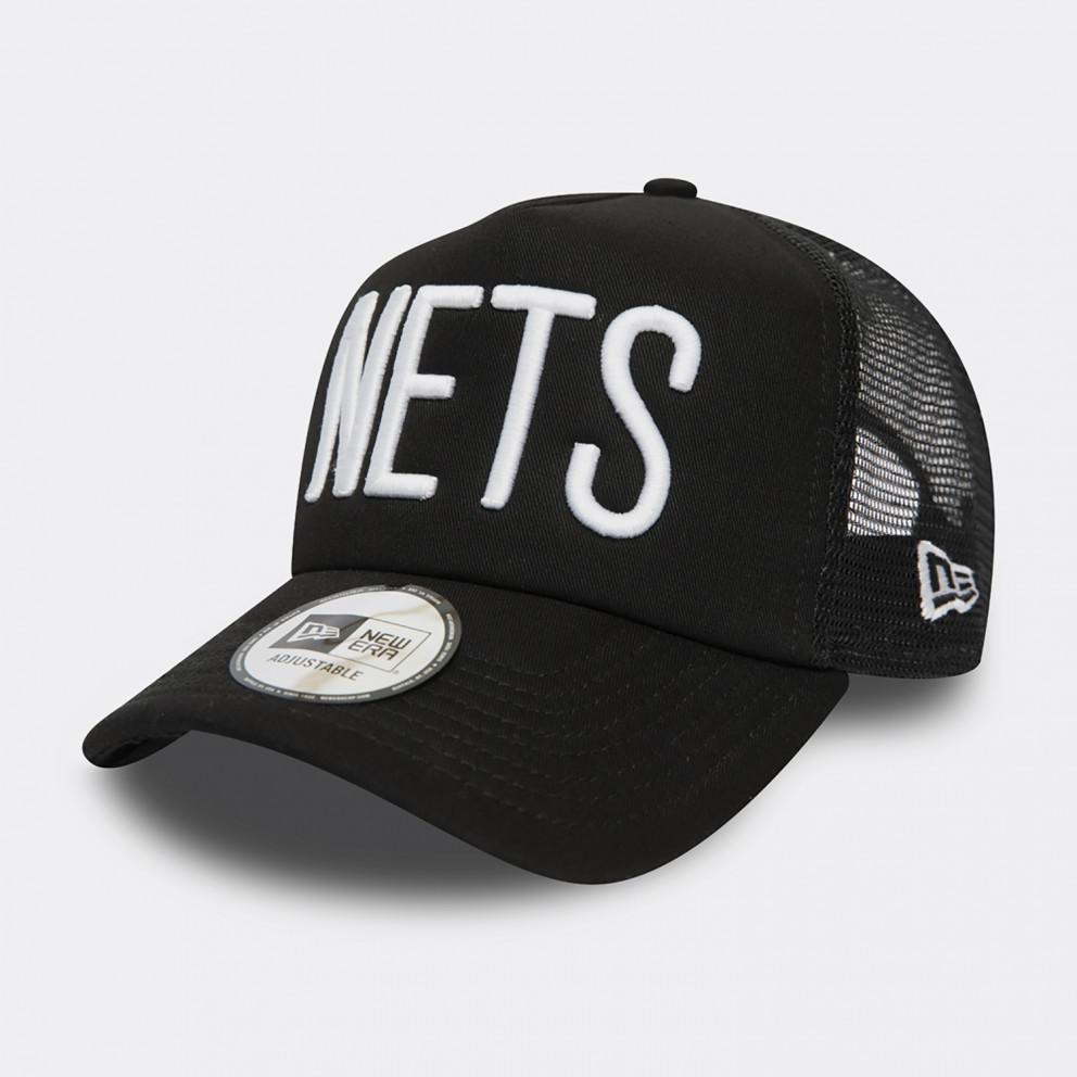 New Era NBA Team Brooklyn Nets Trucker Hat