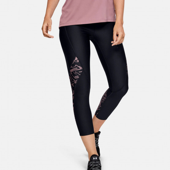 Under Armour HG Printed Panel Ankle Crop