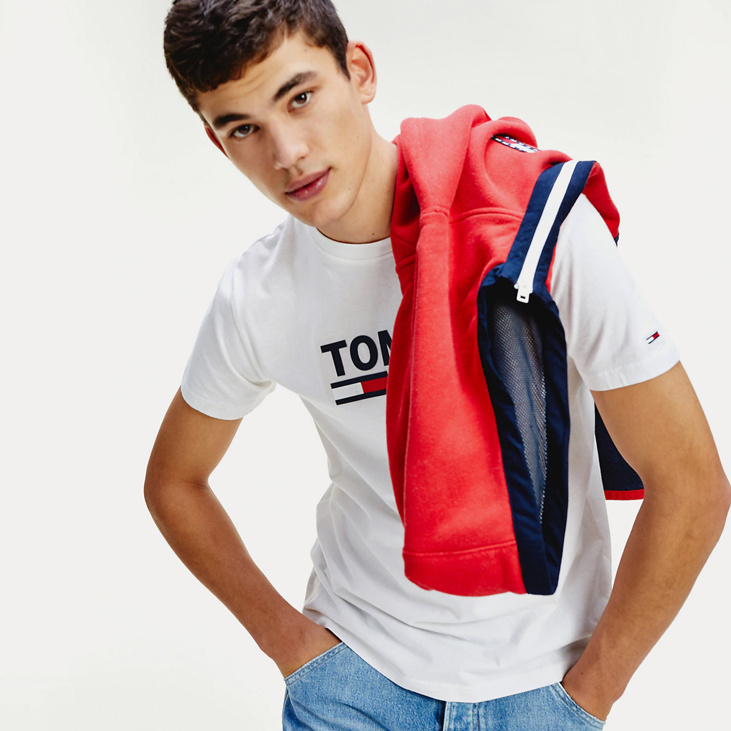 Tommy Jeans Corp Logo Tee (9000050940_1539)