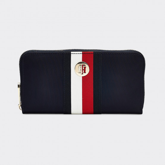 Tommy Jeans Large Stripe Zip-Around Women's Wallet