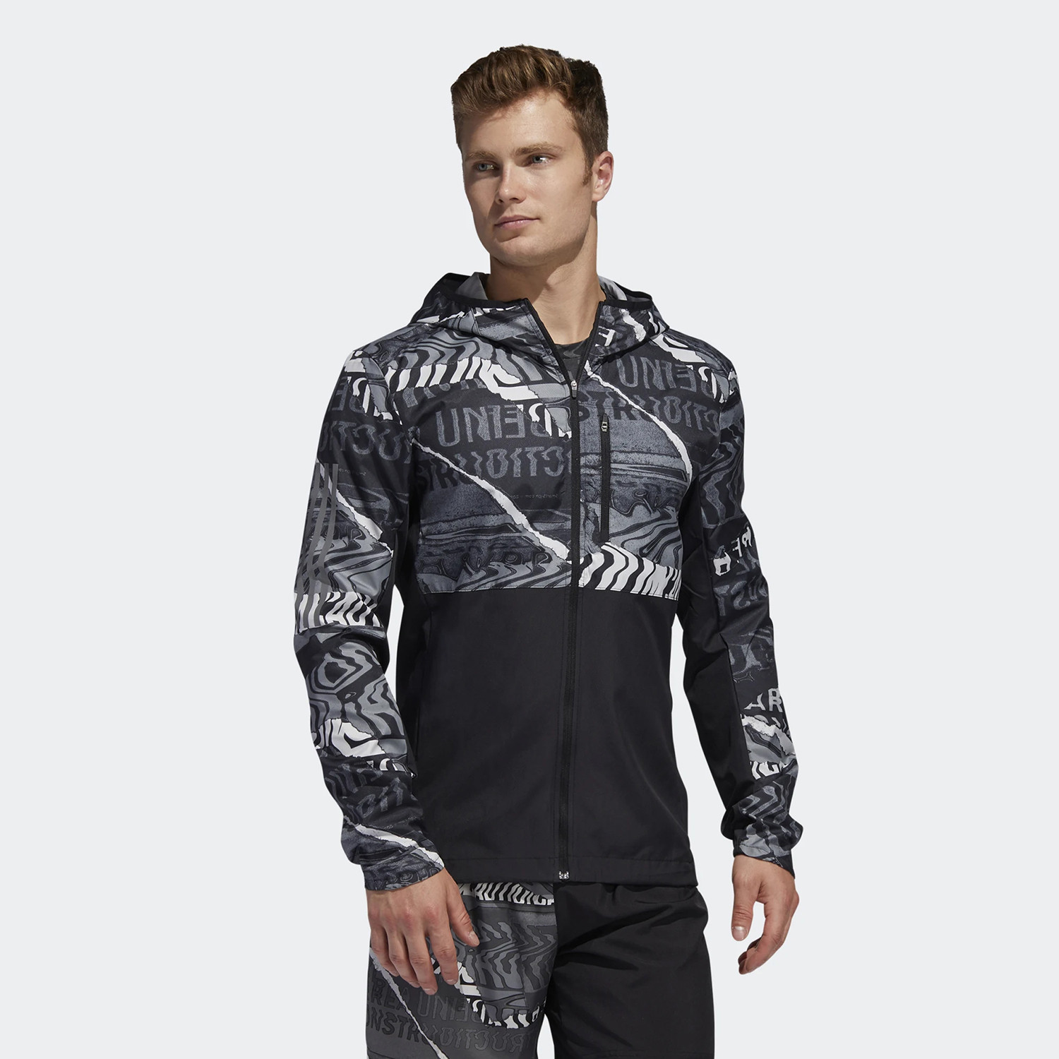 adidas Performance Own The Run Graphic Jacket (9000044640_43281)