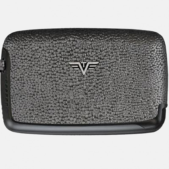 Tru Virtu ΘΗΚΗ ΚΑΡΤΩΝ CARD CASE LEATHER METALLIC S