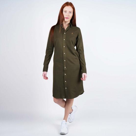 Polo Ralph Lauren Women's Cotton Oxford Shirtdress