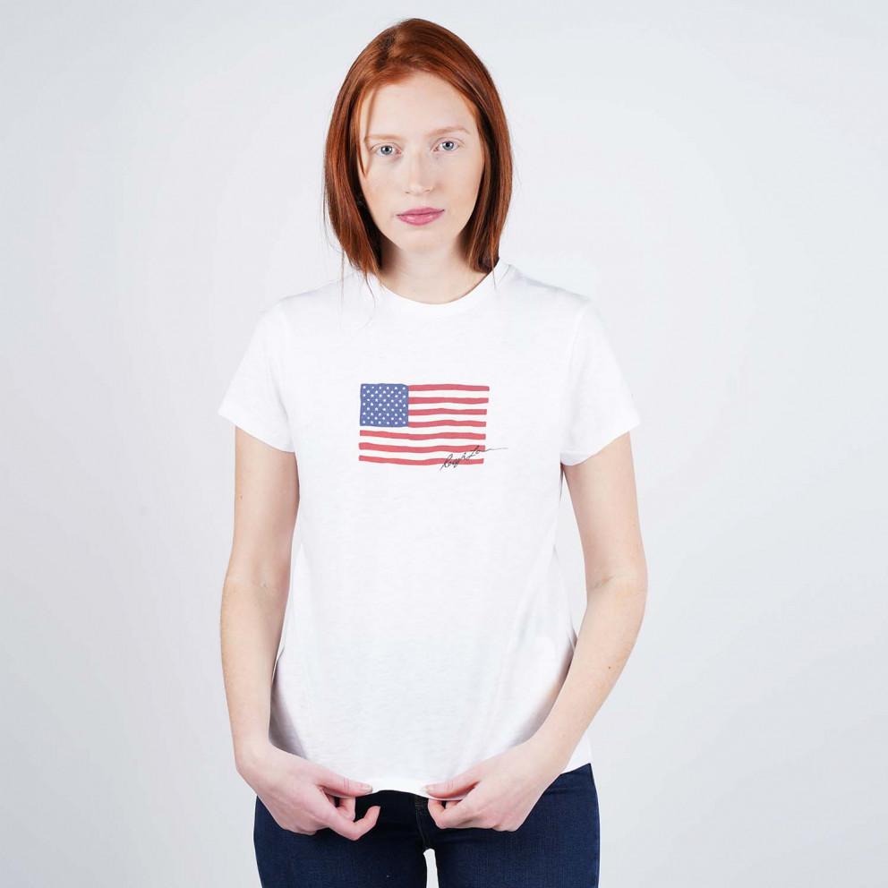 Polo Ralph Lauren Navy Flag Women's T-Shirt