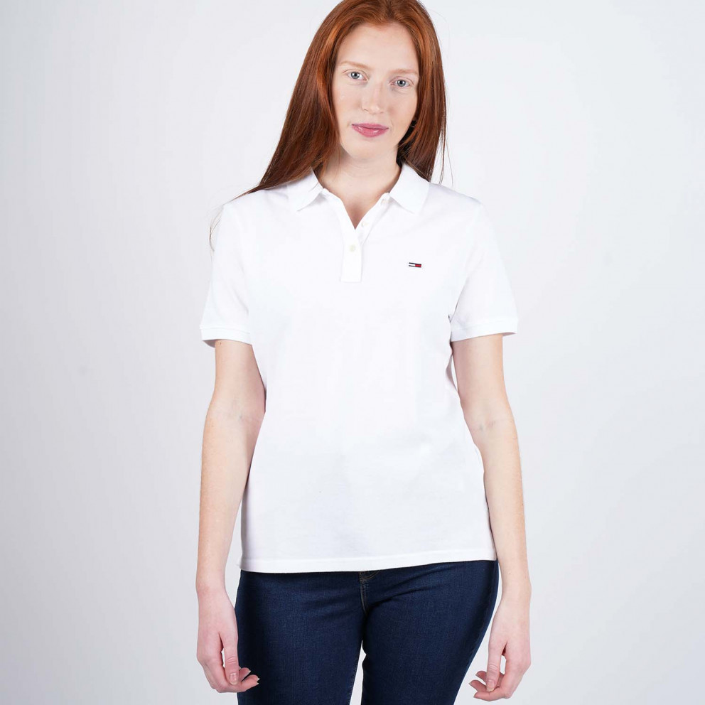 Tommy Jeans Women's Classics Polo Shirt