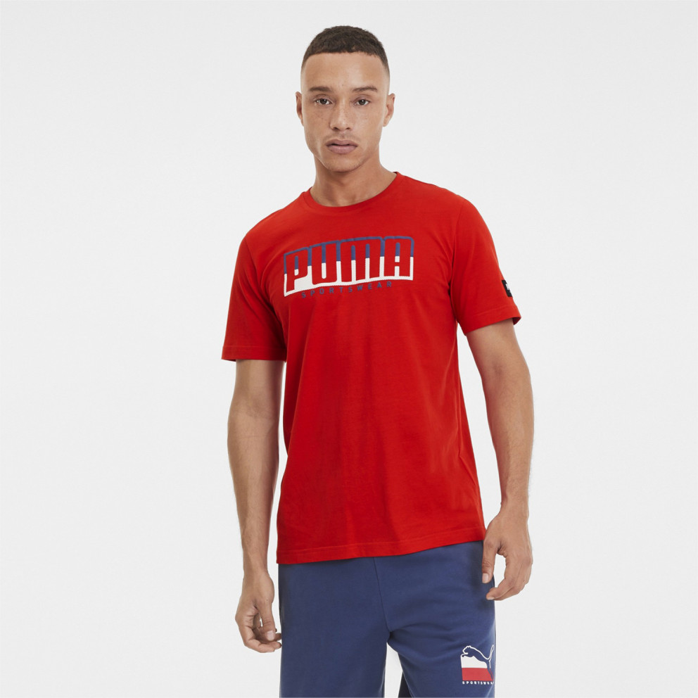 Puma Athletics Big Logo Men's Tee