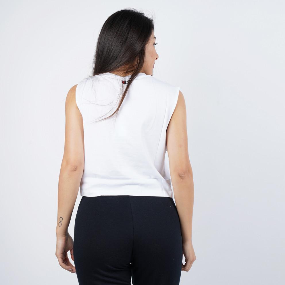 Champion Γυναικεία Crop Μπλούζα