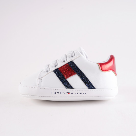 Tommy Jeans Low Cut Lace-Up Sneakers For Infants
