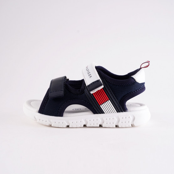 Tommy Jeans Flag Velcro Infants Sandals