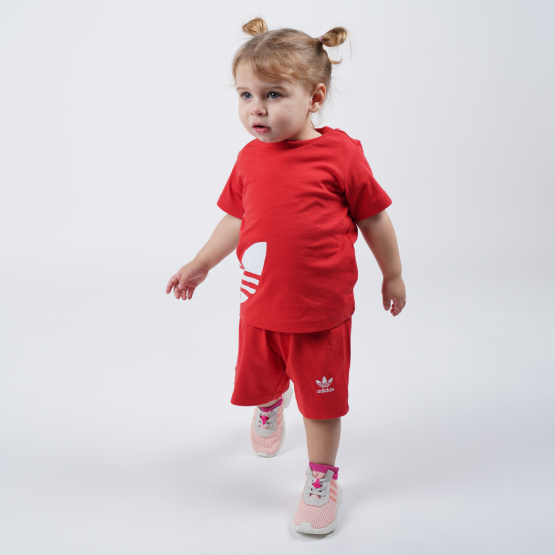 adidas Originals Big Trefoil Kids' Shorts Tee Set