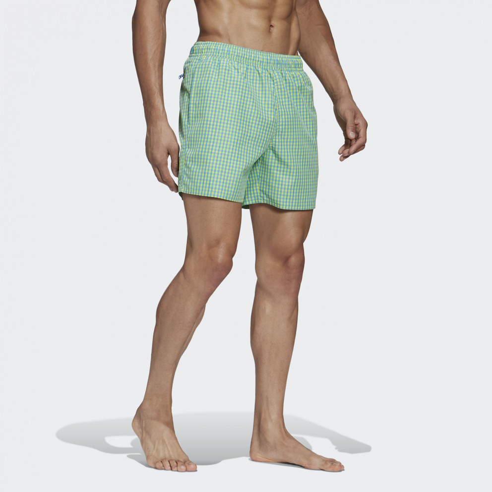 adidas Performance Check Clx Swim Shorts