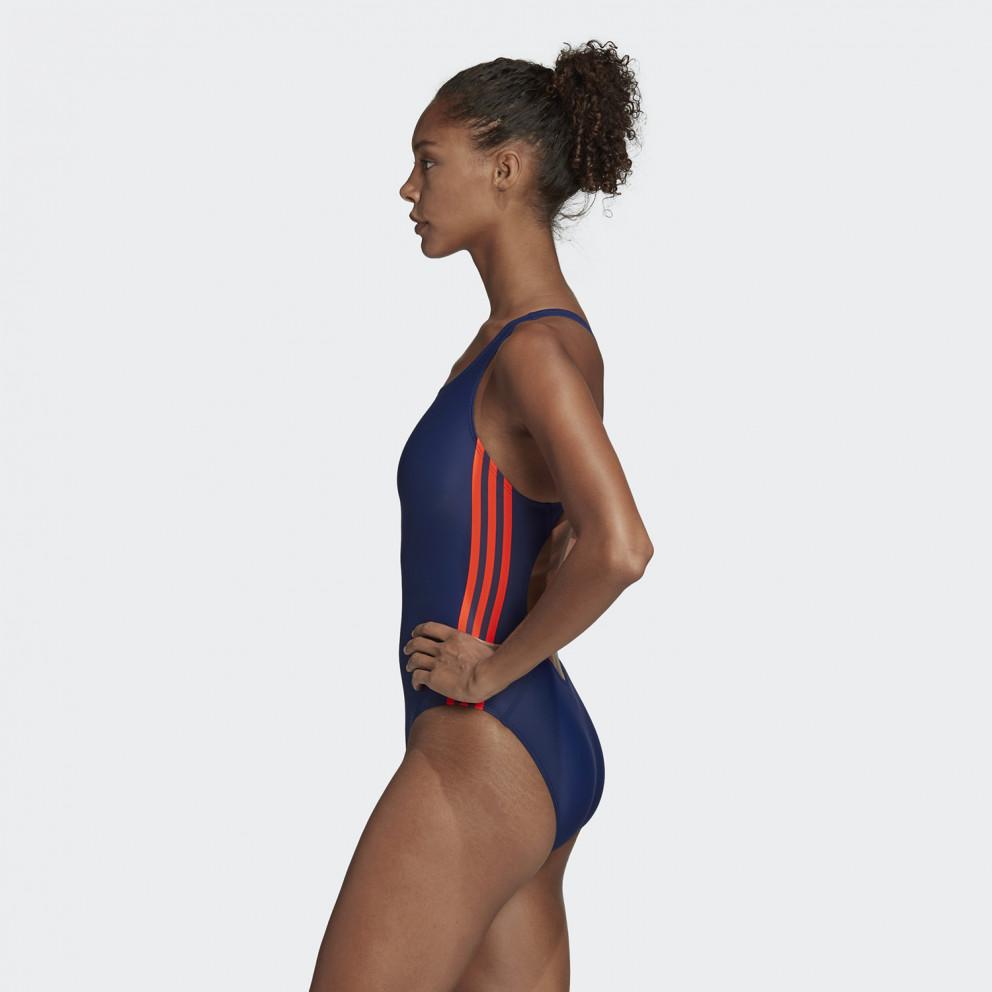 Adidas Women'S Athly V 3-Stripes Swimsuit - Γυναικείο Ολόσωμο Μαγιό