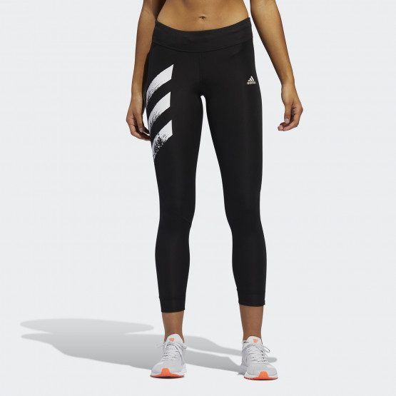 adidas Performance Women's Own The Run 3-Stripes Fast Leggings