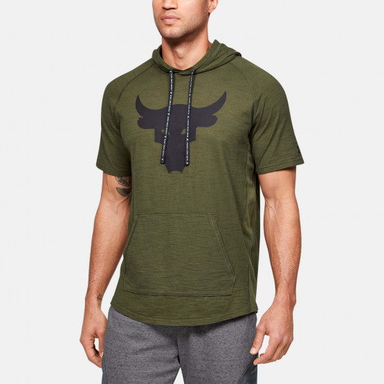 Under Armour Project Rock Charged Cotton SS Hoodie
