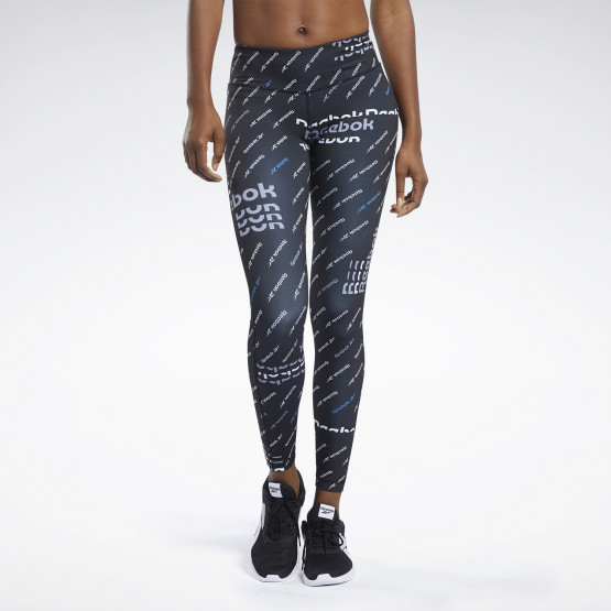 Reebok Sport Women's Workout Ready Allover Print Tights