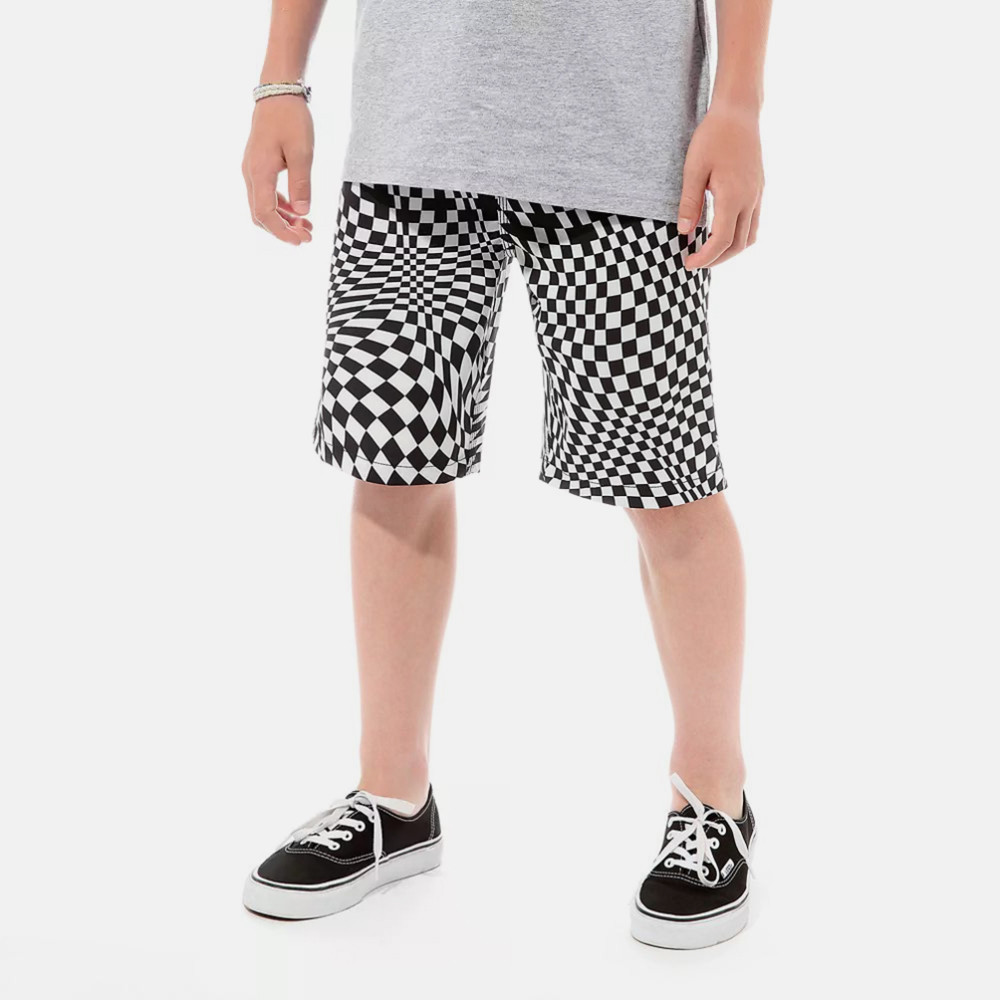 Vans Kids By Pixelated Boardsh Black (9000048890_1469)