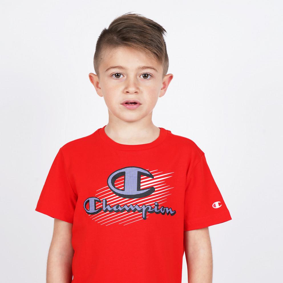 Champion Crewneck Παιδικό T-Shirt
