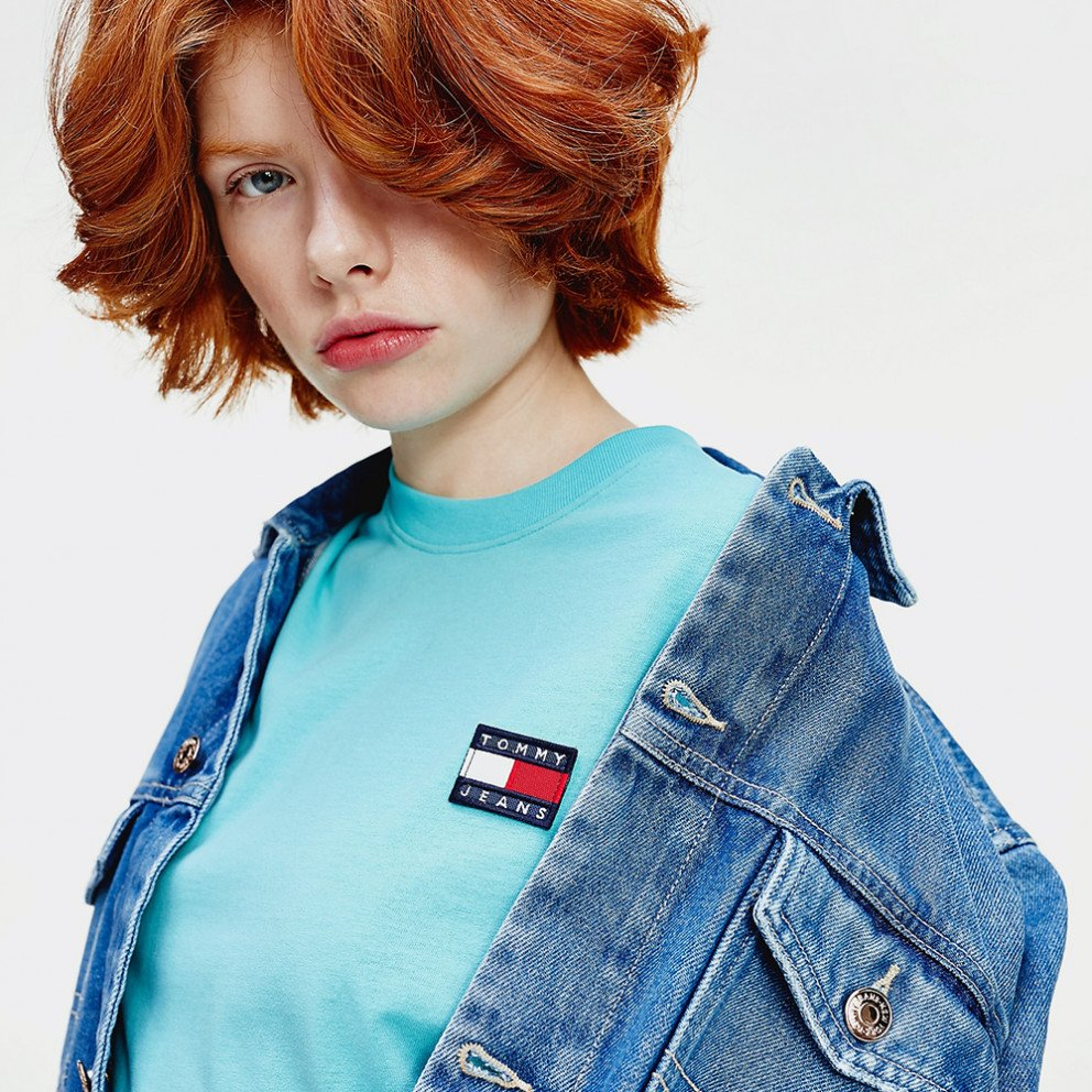 Tommy Jeans Tommy Badge Cropped Women's T-Shirt