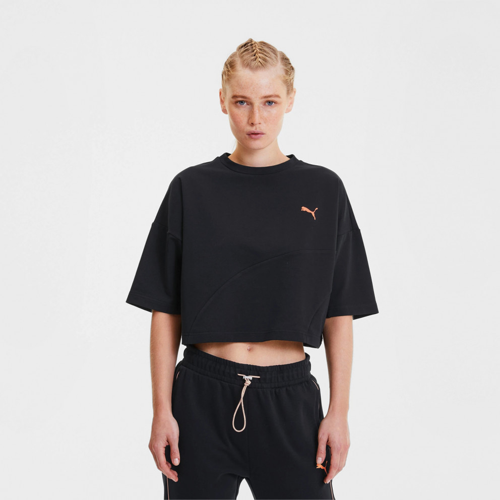 Puma Evide Form Stripe Women's Crop Tee