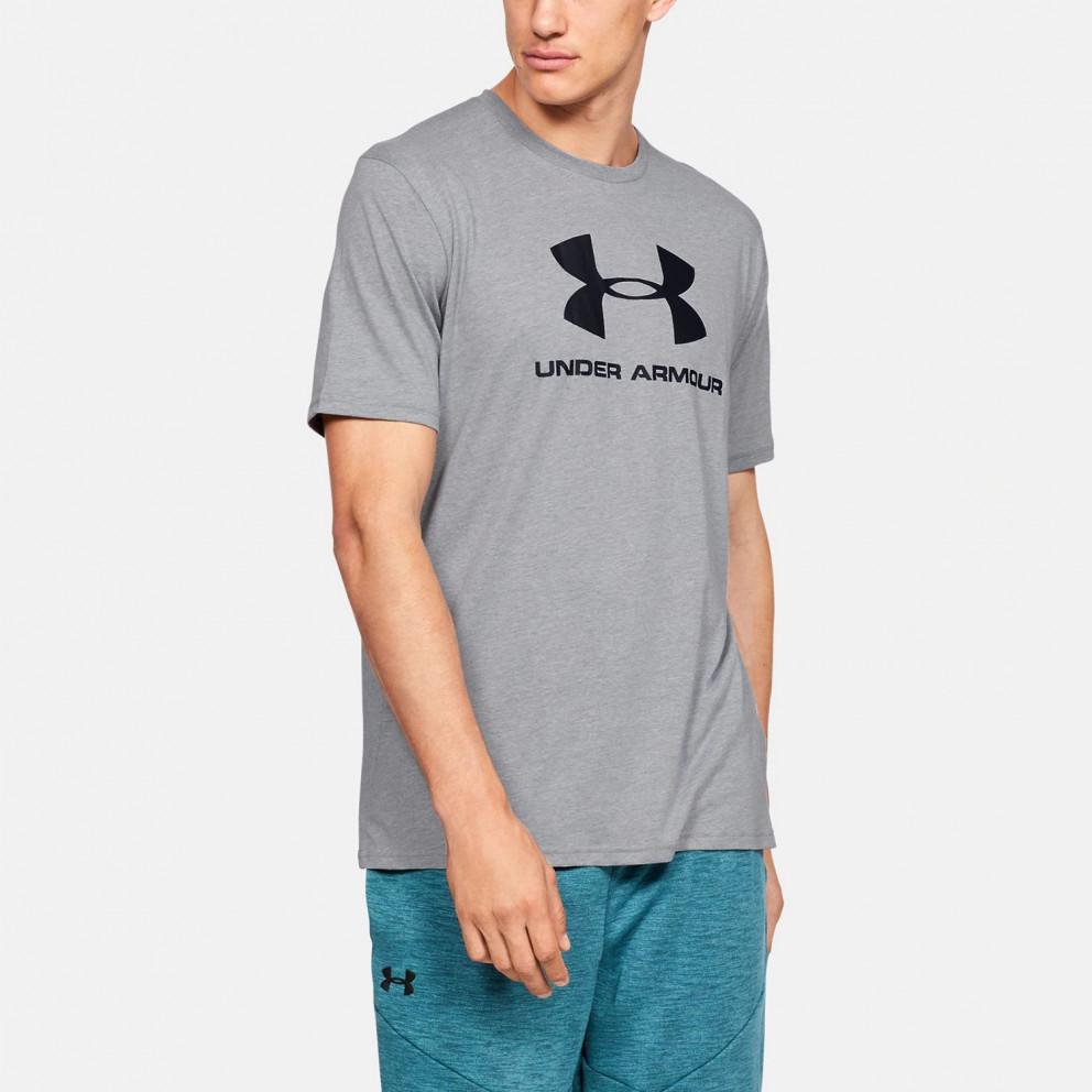 Under Armour Rival Fleece Sportstyle Logo Ανδρική Μπλούζα