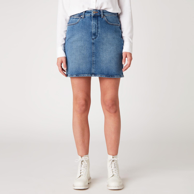 Wrangler Women'S Mid Skirt (9000049754_5595)