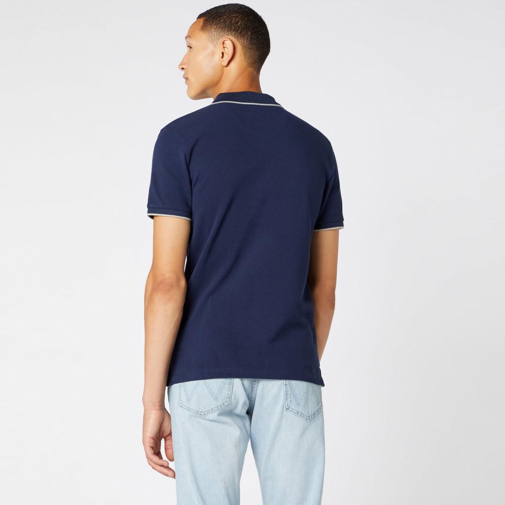 Wrangler Men'S ShortsLeeve Pique Polo